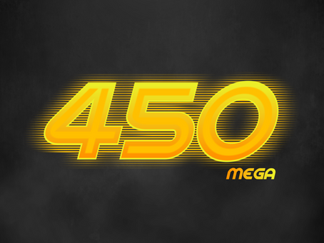 Lançamento: 450 MEGA de Internet Fibra Ótica