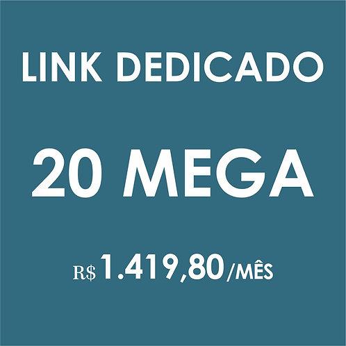 INTERNET LINK DEDICADO 20 MEGA