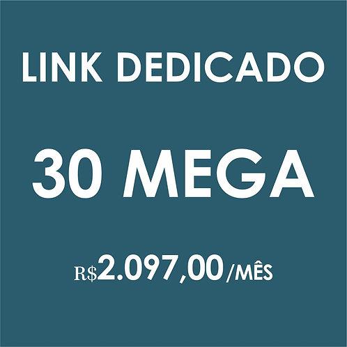 INTERNET LINK DEDICADO 30 MEGA