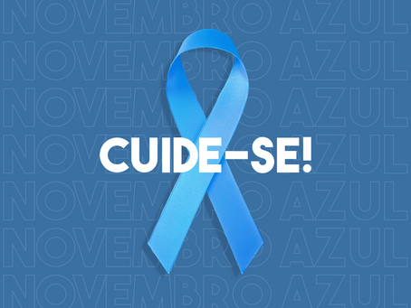 Novembro Azul: mês de conscientização à prevenção do câncer de próstata