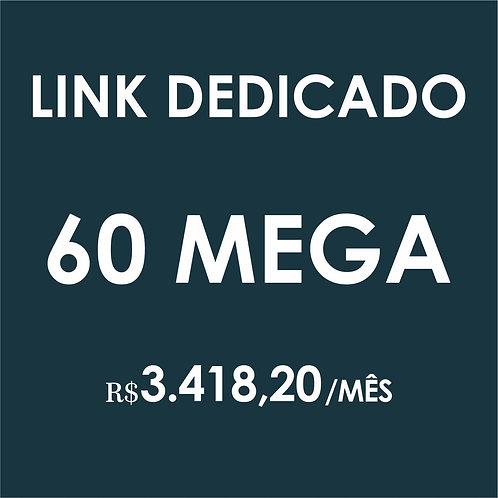 INTERNET LINK DEDICADO 60 MEGA