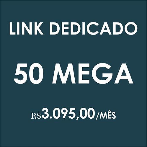 INTERNET LINK DEDICADO 50 MEGA