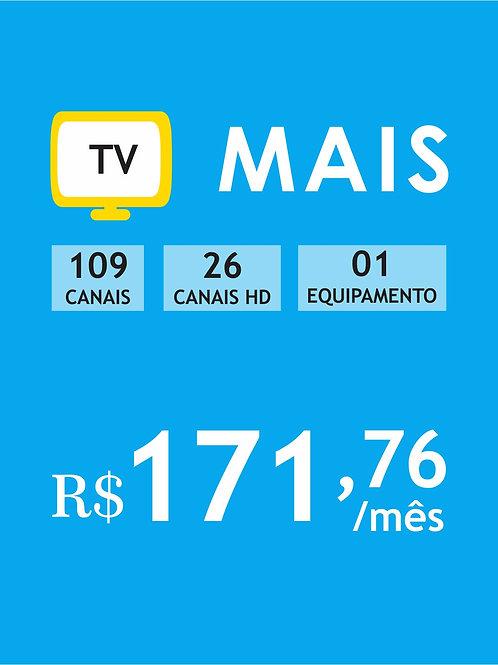 PACOTE MAIS - 108 CANAIS