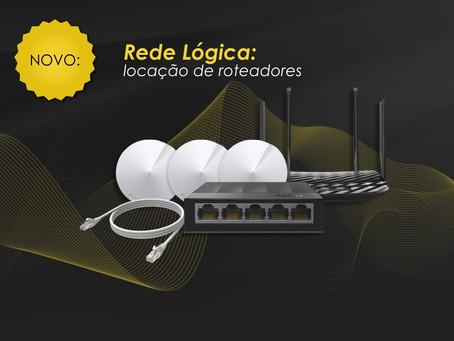 Novidade: Rede Lógica - locação de roteadores em Foz do Iguaçu