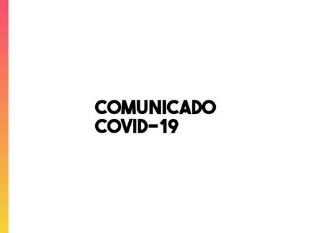 Comunicado: mudança no atendimento da Linca devido à Covid-19