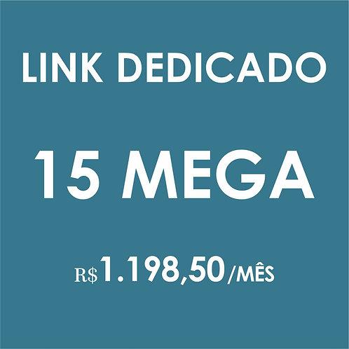 INTERNET LINK DEDICADO 15 MEGA