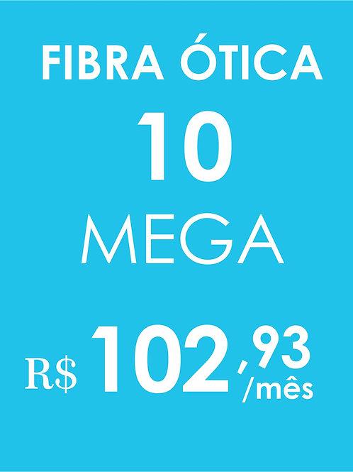 INTERNET 10 MEGA FIBRA ÓTICA