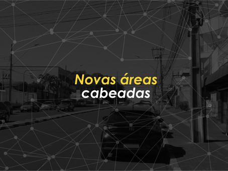 Novas áreas cabeadas com internet por Fibra Ótica da Linca em Foz do Iguaçu