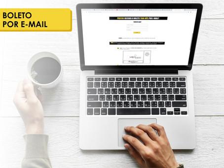 02 motivos simples para solicitar o boleto por e-mail