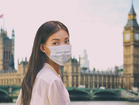 UK Officials Reluctant to Update Face Mask Policies for Public