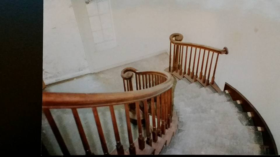 Residential curved handrail
