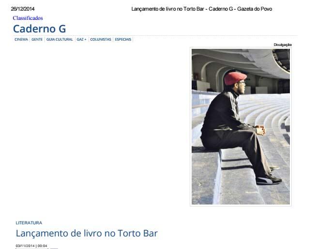 Crônicas no Gazeta do Povo
