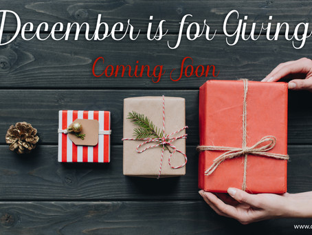December Is For Giving!