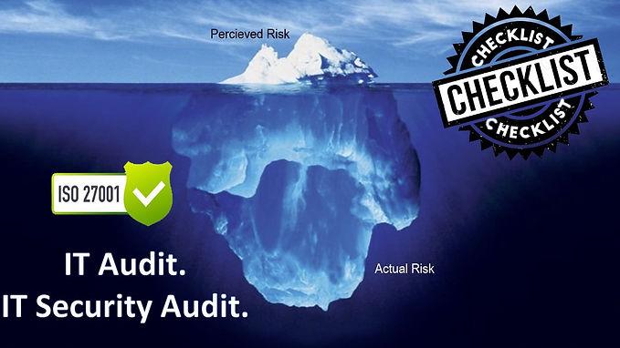 ISO 27001 Questionnaire - IT Audit - IT Security - IT audit checklist