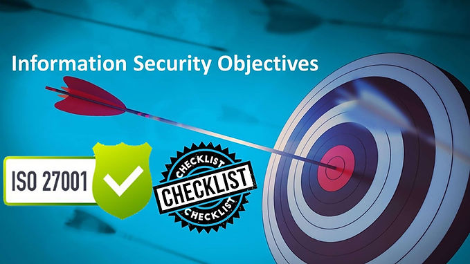 ISO 27001 Questionnaire - ISMS Objectives