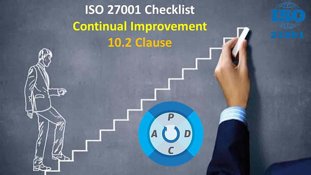 ISO 27001 Requirements - Continual Improvement