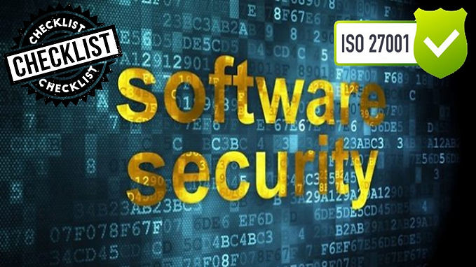 ISO 27001 Questionnaire - Software security - Secure Software Development