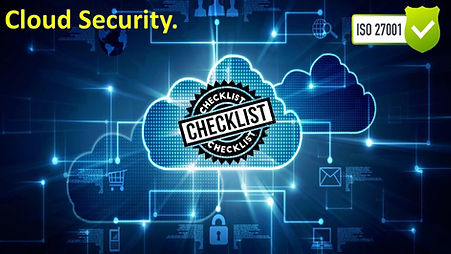 Cloud Security Checklist