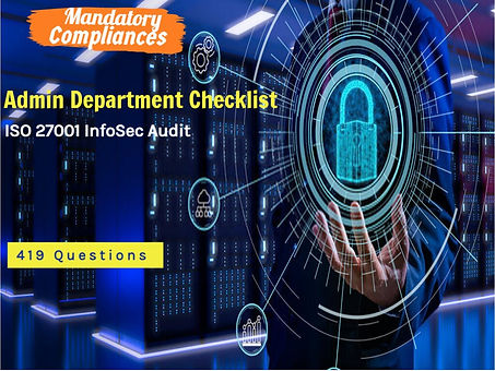 ISO 27001 Physical Security Audit Checklist