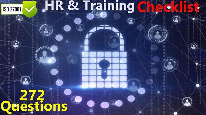Iso 27001 HR & Training audit
