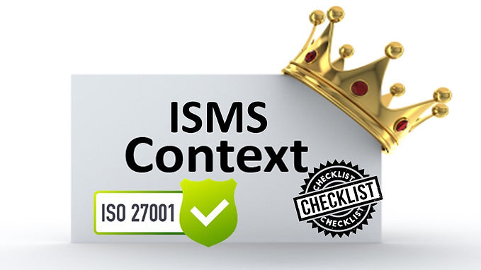ISO 27001 Questionnaire - ISMS Context