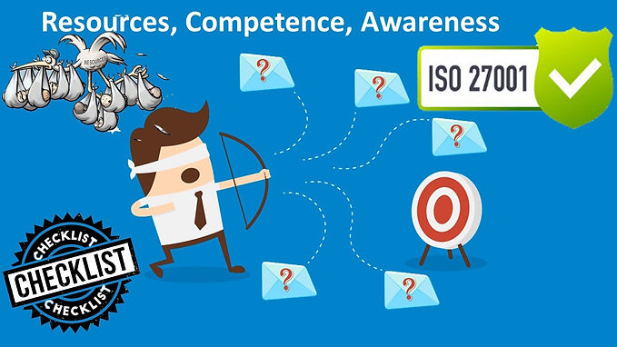 ISO 27001 Questionnaire - Resources, Competence and awareness