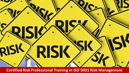 Certified Risk Professional Training in
