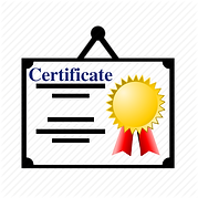 Training Certificate is provided for ISO 9001 awareness training