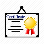Training Certificate is provided for ISO 9001 internal auditor training