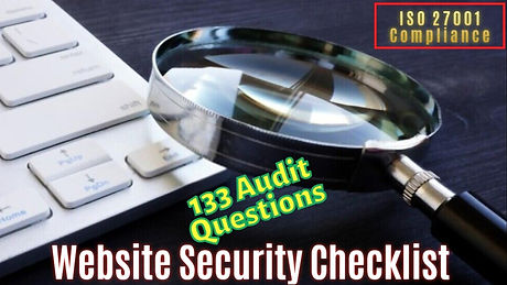Website Security Checklist