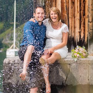 Hochzeitsfoto, Hochzeitsfotografie, Achensee