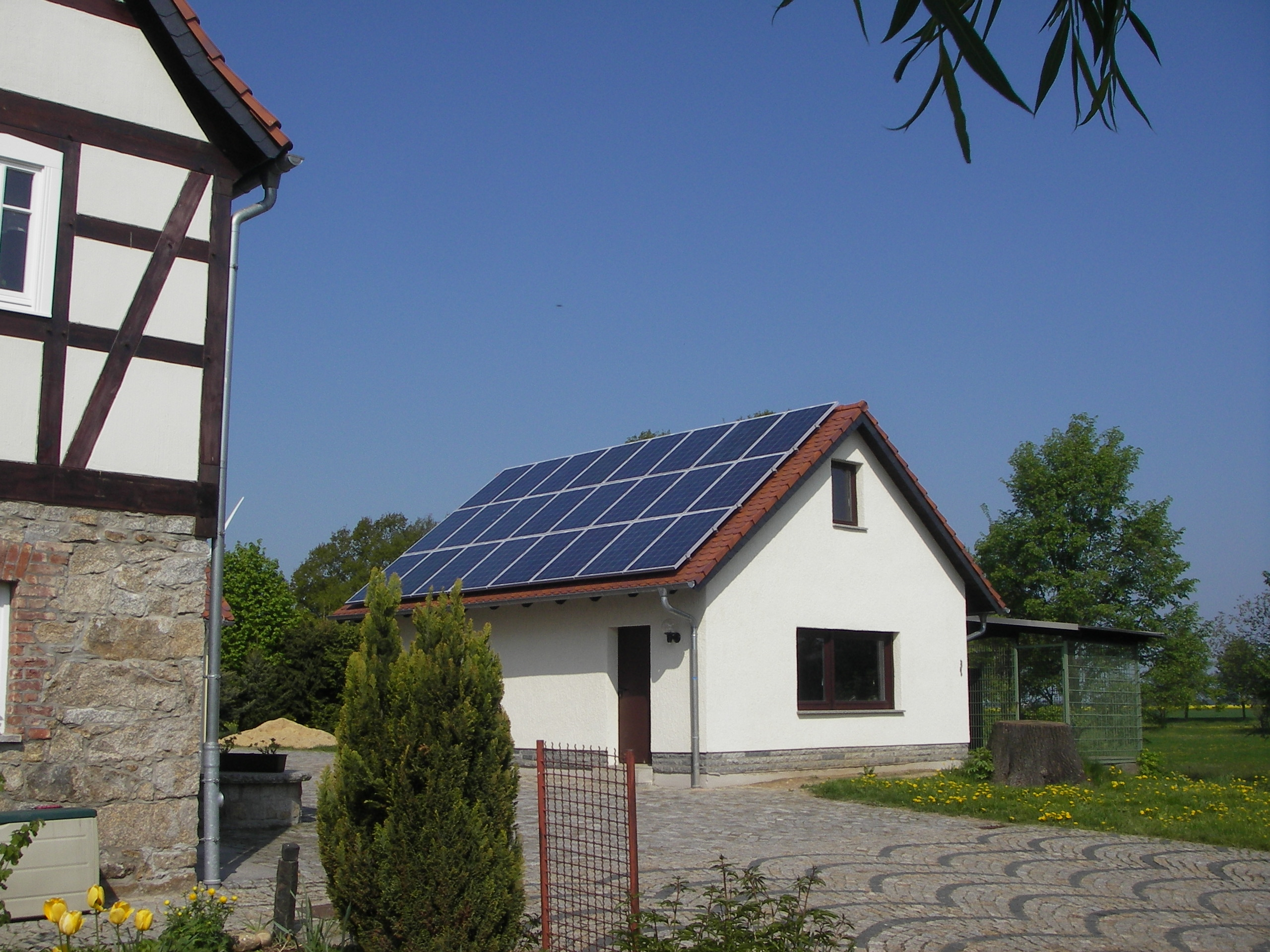Hausdachanlage