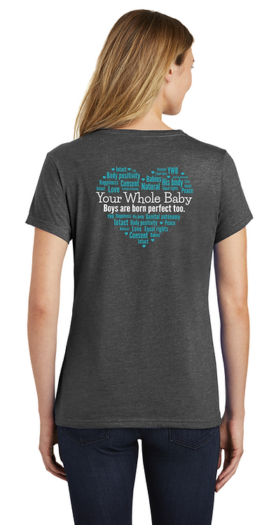 Your Whole Baby Word Cloud - Ladies V-Neck