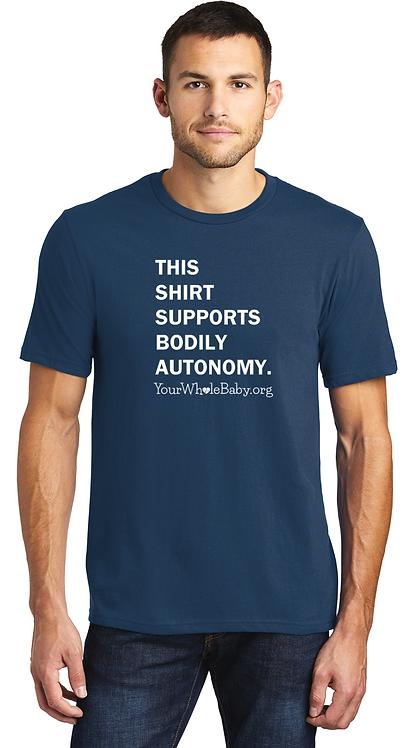 Bodily Autonomy - Unisex Tee