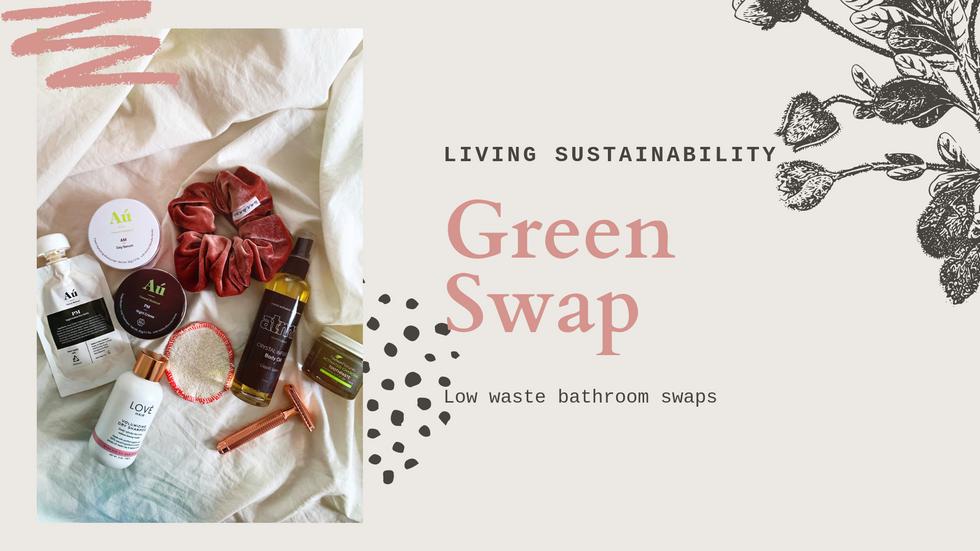Green Bathroom Swaps
