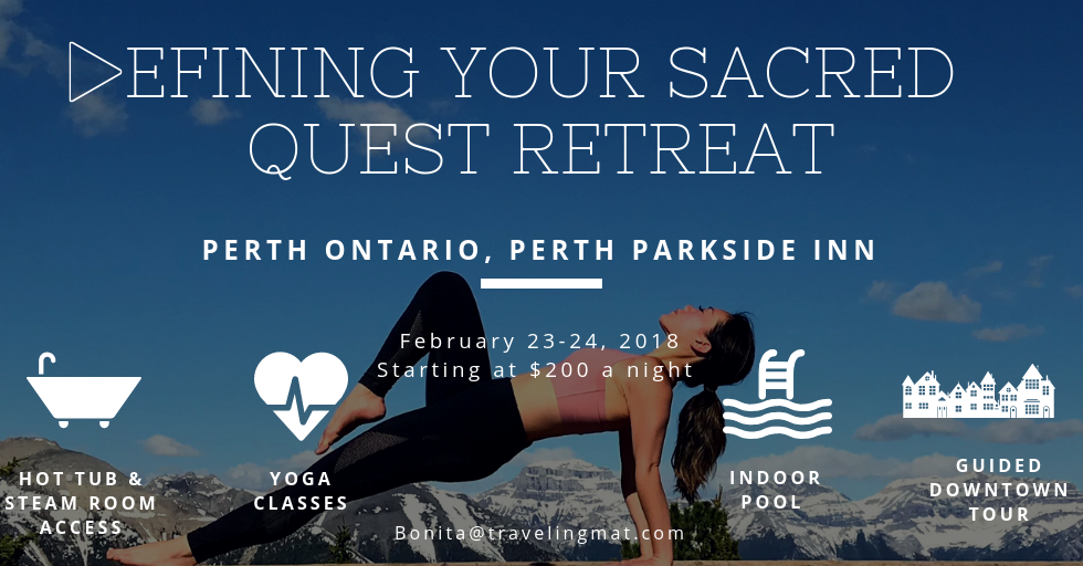 Defining your Sacred Quest Yoga Retreat