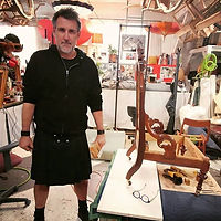 Jamie Gairns, Partner Upholstery Couture
