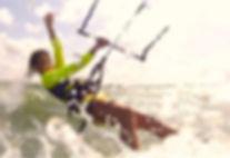 Кайтбординг кайтнг Новосибирск Wind' House Девушка Воздушный змей Kite Кайтсерфинг