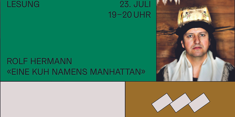 """Sommer-Leserreihe: Rolf Hermann liest aus """"Eine Kuh namens Manhattan"""""""