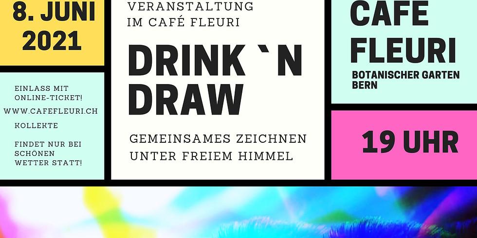 AUSVERKAUFT! Drink'n Draw im Cafe Fleuri