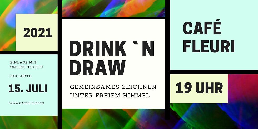 AUSVERKAUFT! Drink'n' Draw im Cafe Fleuri