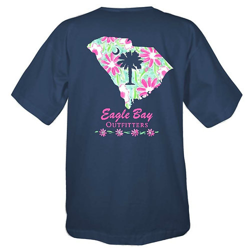 Eagle Bay Outfitters SC State Flower Tee