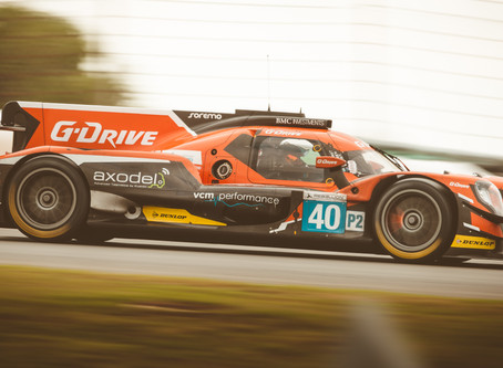 Enqvist is once again behind the wheel of the No.40 G-drive LMP2 by Graff.