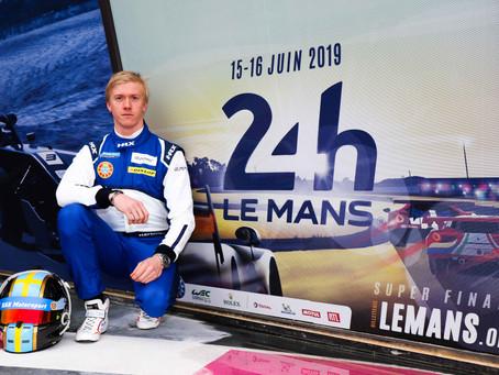 Henning Enqvist klar för rekordupplaga av Le Mans 24-timmars