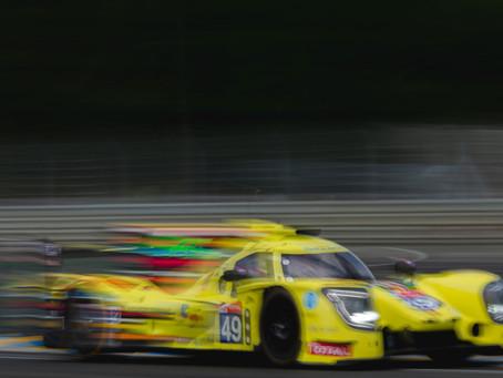 Händelserik Le Mans-debut avklarad för Henning Enqvist