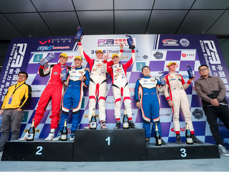 P3 Podium Finish in Beijing