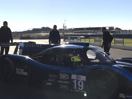 Henning Enqvist in LMP3 for the end of season