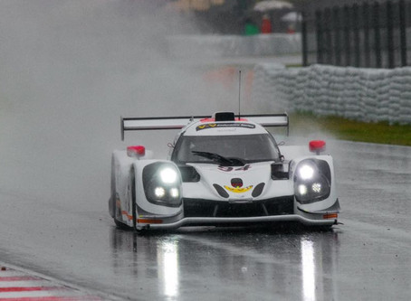 P2 in qualifying, however heavy rain meant that the race got Red flagged