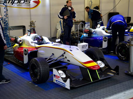Henning gets the opportunity to test Euroformula F3 for Campos Racing