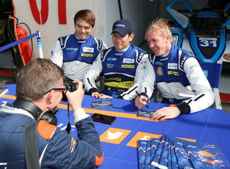 Halvtid för Henning Enqvist i European Le Mans Series